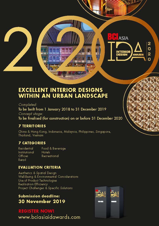 IDA 2020, FuturArc Prize 2020 and FuturArc Green