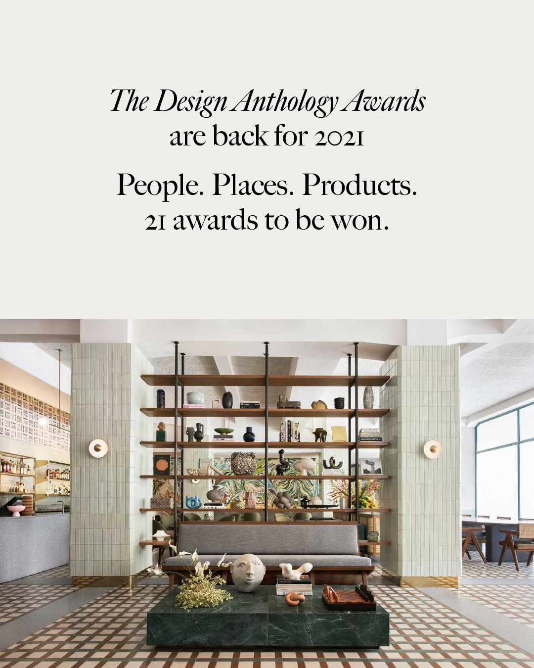 The Design Anthorogy Awards are back for 2021